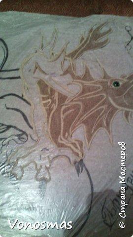 всем салют!!! это дракон из джутового шпагата. И немного пошаговых фото. фото 12
