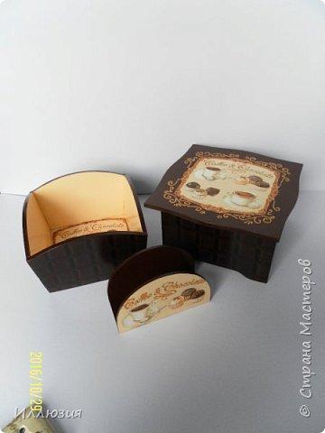Конфетница, подставка для салфеток, чайная шкатулка. фото 1