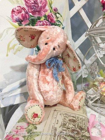 Симпатяга-слоник Карамелька фото 1
