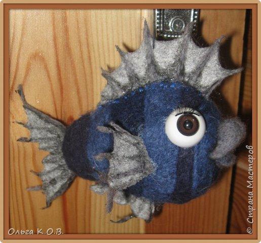 Шаро-рыбка на елку фото 1
