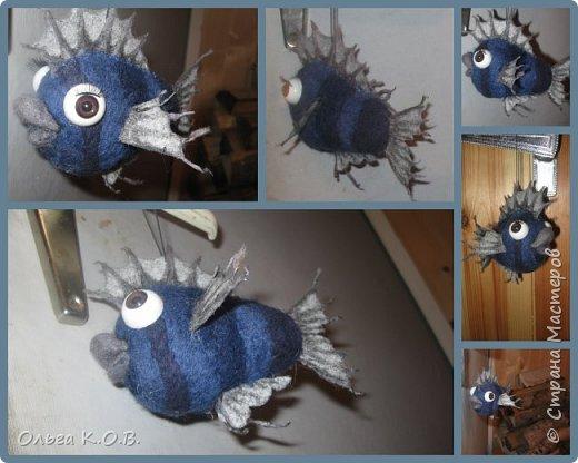 Шаро-рыбка на елку фото 3