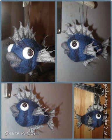 Шаро-рыбка на елку фото 4