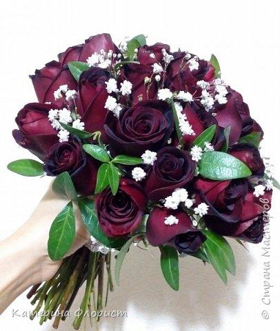 Эустомы и розы фото 16