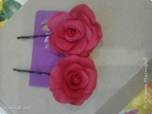 Невидимочки с розами из фоамирана фото 1