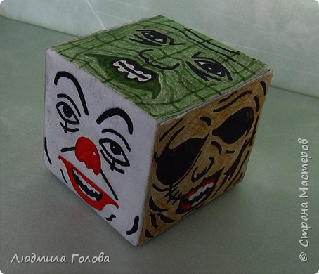 Кубик с персонажами из фильмов-ужасов. фото 1