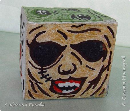 Кубик с персонажами из фильмов-ужасов. фото 3