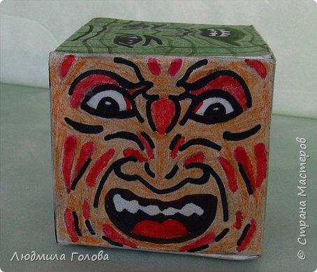 Кубик с персонажами из фильмов-ужасов. фото 4
