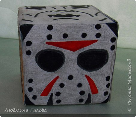 Кубик с персонажами из фильмов-ужасов. фото 5