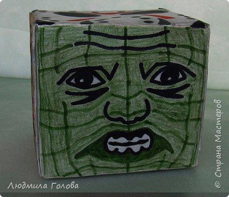 Кубик с персонажами из фильмов-ужасов. фото 6