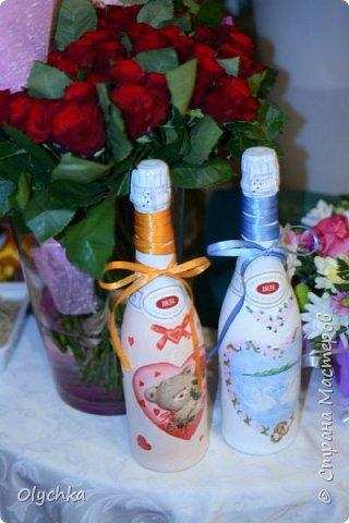 Свадебные бутылки фото 2
