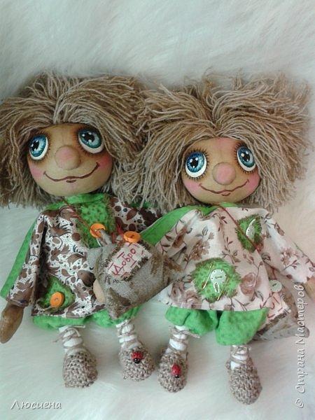 Чердачная кукла ручной работы домовенок КУЗЯ фото 9