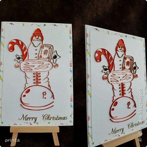 Рождественские открытки фото 5