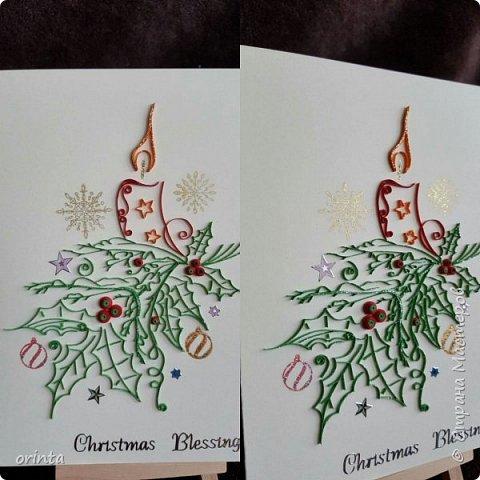 Рождественские открытки фото 4