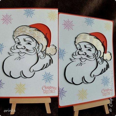 Рождественские открытки фото 1