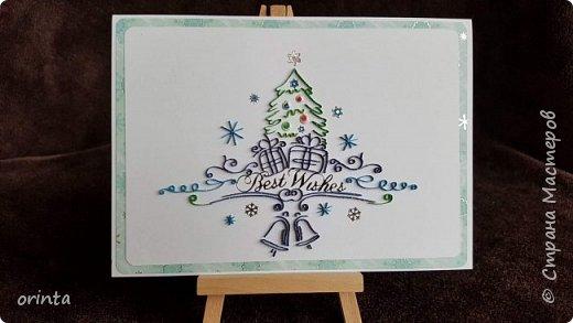 Рождественские открытки фото 6