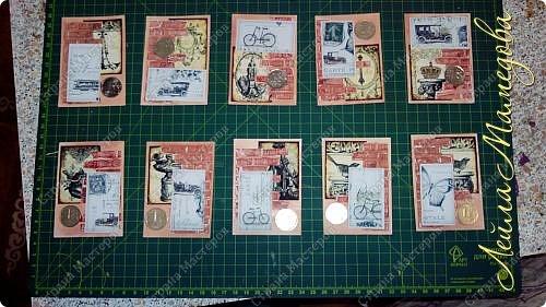 Мои карточки для обмена по совместнику http://stranamasterov.ru/node/1055187?c=favorite . Я хотела представить в карточках сущность мужской натуры (как её вижу я) . Мужчина должен стоять стеной за своих родных, должен заботиться о материальном благополучии семьи и иметь свои маааааленькие слабости.  Желаю всем приятного просмотра . фото 1