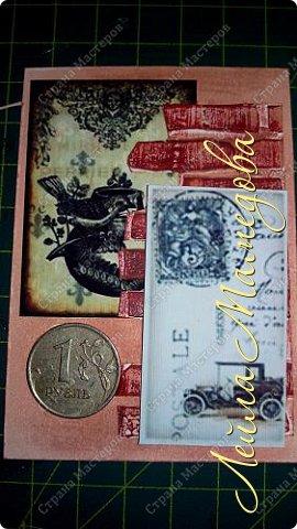 Мои карточки для обмена по совместнику http://stranamasterov.ru/node/1055187?c=favorite . Я хотела представить в карточках сущность мужской натуры (как её вижу я) . Мужчина должен стоять стеной за своих родных, должен заботиться о материальном благополучии семьи и иметь свои маааааленькие слабости.  Желаю всем приятного просмотра . фото 8
