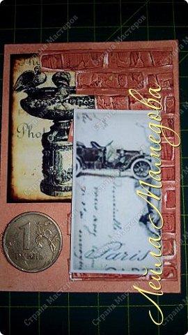 Мои карточки для обмена по совместнику http://stranamasterov.ru/node/1055187?c=favorite . Я хотела представить в карточках сущность мужской натуры (как её вижу я) . Мужчина должен стоять стеной за своих родных, должен заботиться о материальном благополучии семьи и иметь свои маааааленькие слабости.  Желаю всем приятного просмотра . фото 9