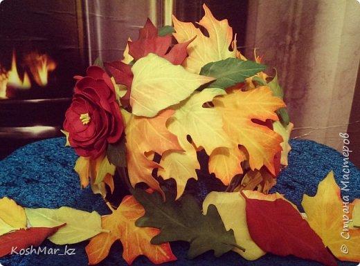 Ободок Осенний поцелуй (+поясок к платью) фото 1