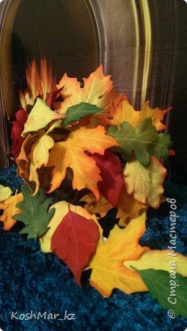 Ободок Осенний поцелуй (+поясок к платью) фото 3