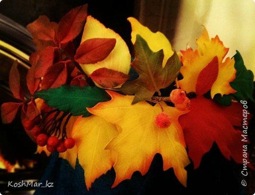 Венок Осеннее попурри фото 2
