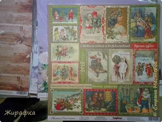 Открытка к Рождеству. фото 6