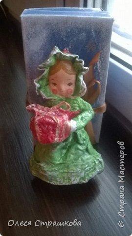 Здравствуй страна!  Хочу показать свои новогодние игрушечки  из ватного папье  маше на каркасе. Посвященные Новогодним утренникам. Пусть елочка радует глаз. У каждой игрушки своя душа и история. Каждую очень приятно держать в руках.  детки мои в восторге! фото 14