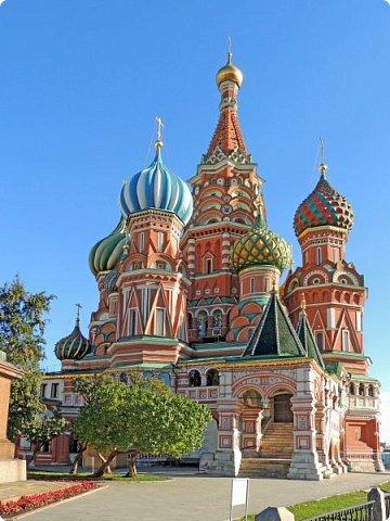 Москва. Собор Покрова Пресвятой Богородицы на Рву. фото 1