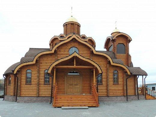 Деревянная церковь. Действует.  фото 4