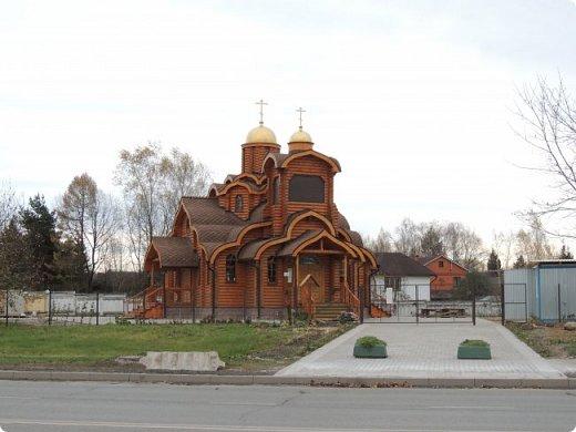 Деревянная церковь. Действует.  фото 6