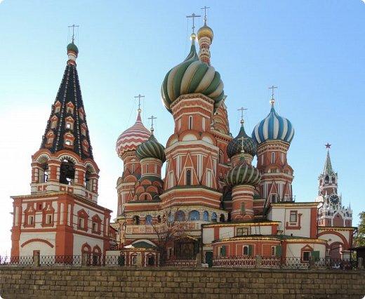 Москва. Собор Покрова Пресвятой Богородицы на Рву. фото 2