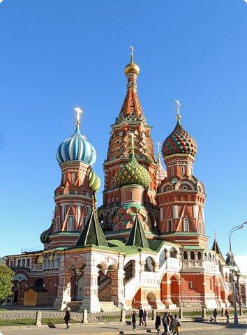 Москва. Собор Покрова Пресвятой Богородицы на Рву. фото 5