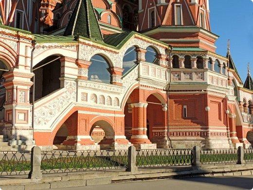 Москва. Собор Покрова Пресвятой Богородицы на Рву. фото 6