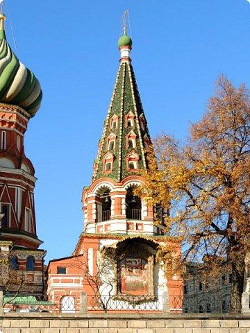 Москва. Собор Покрова Пресвятой Богородицы на Рву. фото 10