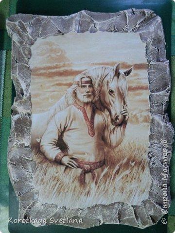 28 октября было закрытие этнического музея Атамань. Готовила в срочном порядке, т.к. поздно получила приглашение. Размеры панно примерно 30х40 см. фото 4
