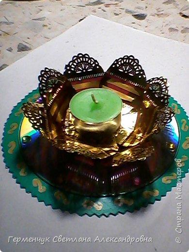 Подставка для свечи фото 1