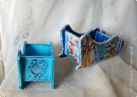 Маленькие сани-конфетницы фото 4