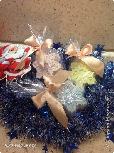 Новогодние мыло фото 4