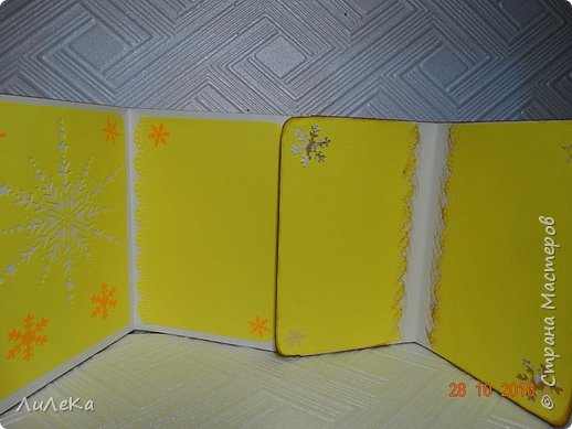 Небольшая партия новогодних открыток с использованием готовых вырубок. фото 14