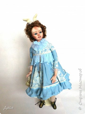 Здравствуйте!  Почти каждый кукольник имеет свою зайку. А теперь и у меня звезды сошлись))  фото 3