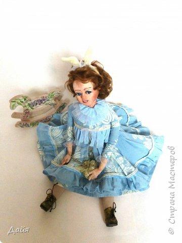 Здравствуйте!  Почти каждый кукольник имеет свою зайку. А теперь и у меня звезды сошлись))  фото 1