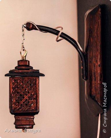 Деревянные светильники ручной работы фото 2