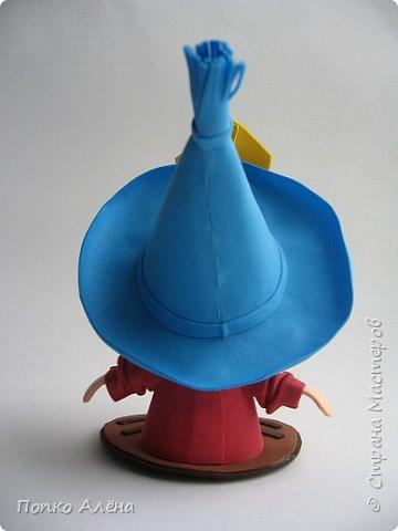 """Приветствую, жителей Страны Мастеров! Представляю Вам игрушки из фоамирана. Баночка для хранения конфет """"Дед Мороз"""". фото 13"""