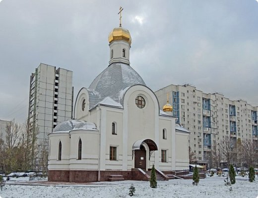 Москва. Церковь Входа Господня в Иерусалим в Бирюлево. фото 2