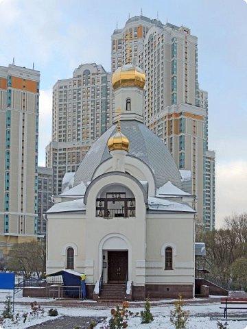 Москва. Церковь Входа Господня в Иерусалим в Бирюлево. фото 3