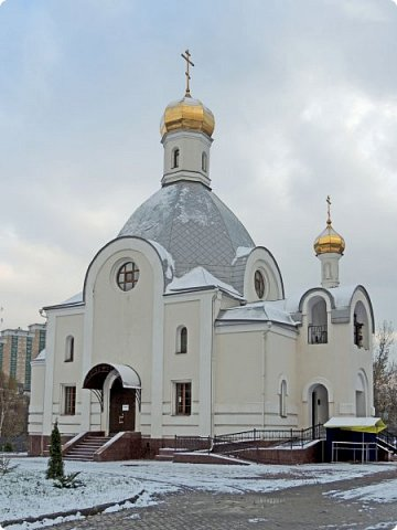 Москва. Церковь Входа Господня в Иерусалим в Бирюлево. фото 1