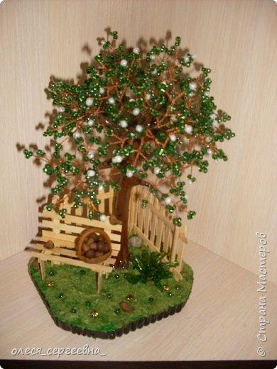 Мои бисерные деревья фото 1