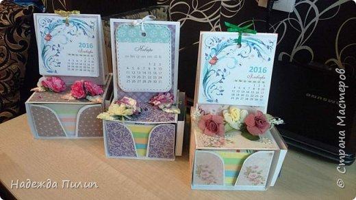 Календарь и блок для записей. Отличный подарок для коллег на работе.  фото 2