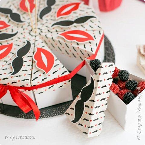 Торт из бумаги с пожеланиями на день рождения своими руками фото 2