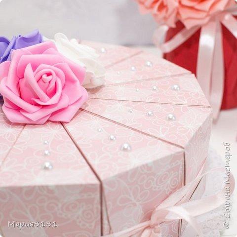 Торт из бумаги с пожеланиями на день рождения своими руками фото 5